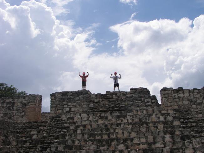 The pyramids of Ek Balem