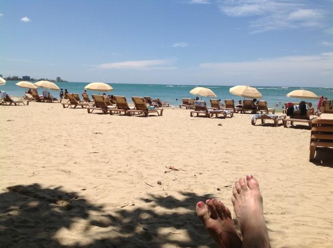 Isle Verde Beach, San Juan Puerto Rico