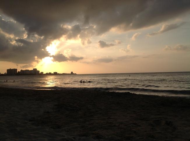 Isla Verde Beach, San Juan Puerto Rico