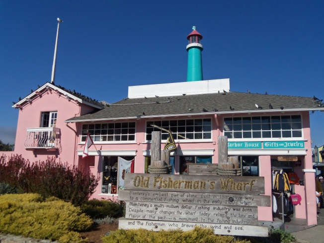 Old Fisherman's Wharf.  Monterey, California