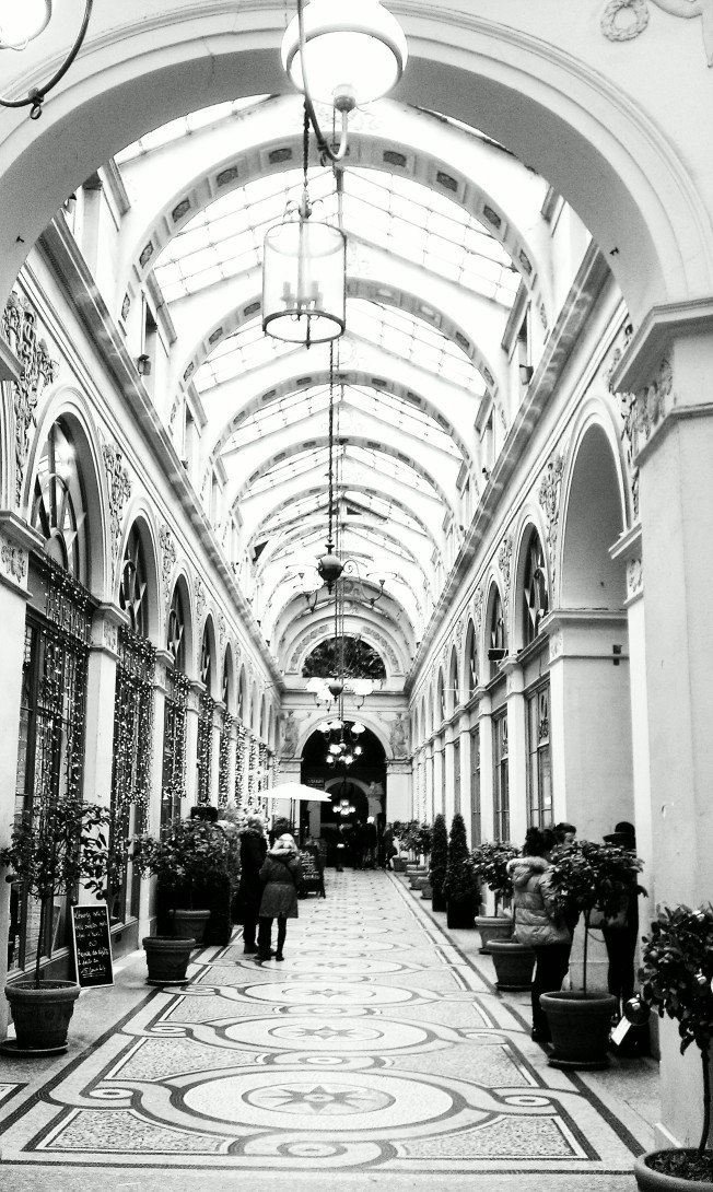 Inside the Galerie Vivienne