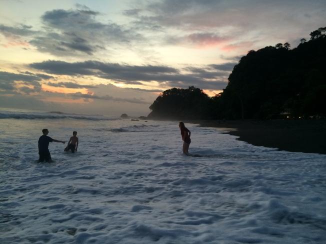 Hermosa Beach at Sunset, Costa Rica