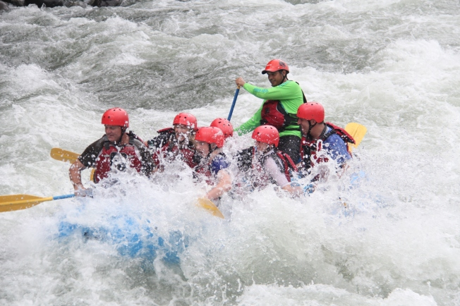 White Water rafting, Sarapiqui river, Costa Rica
