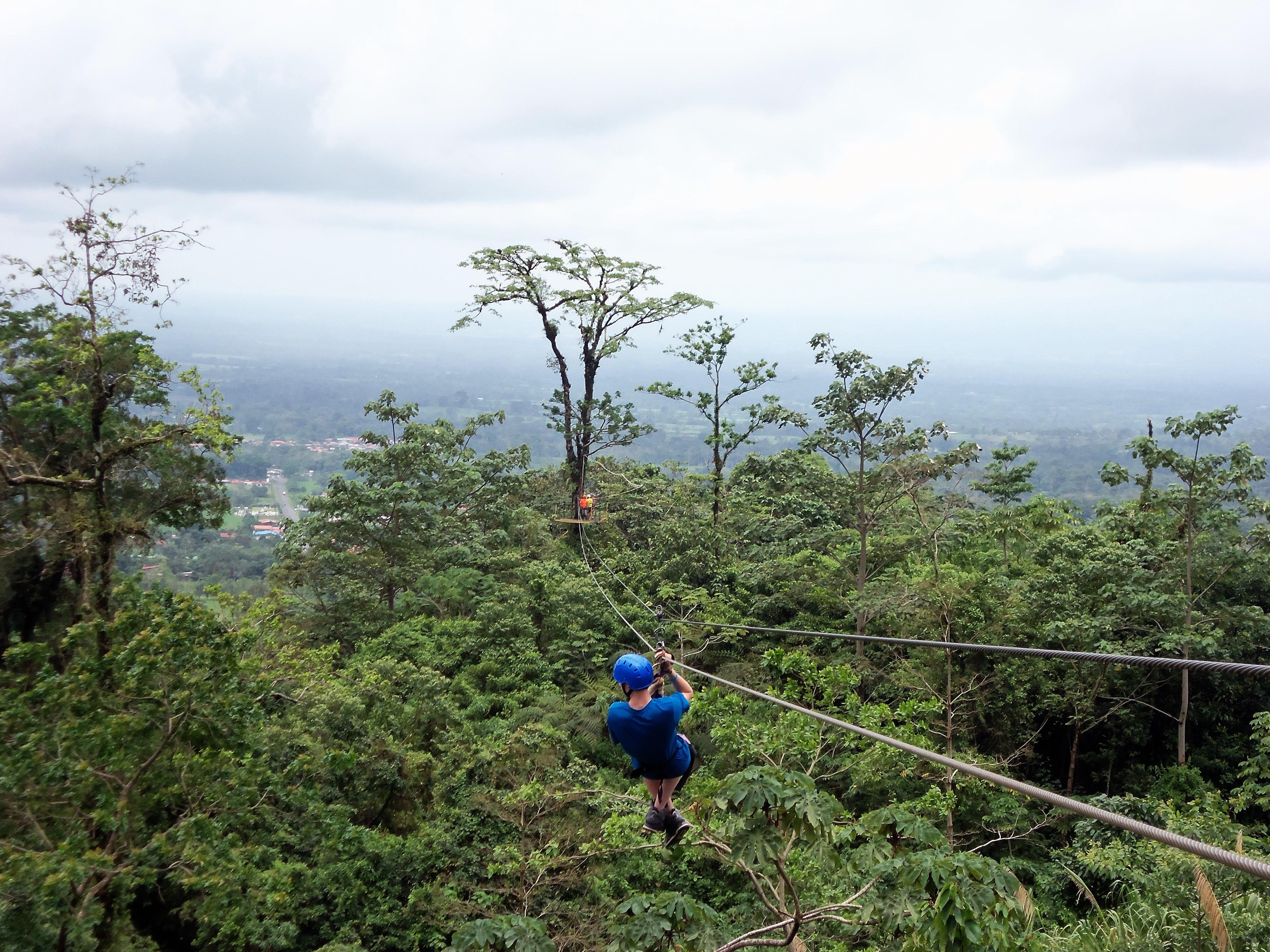 Zip Line Costa Rica Arenal Park