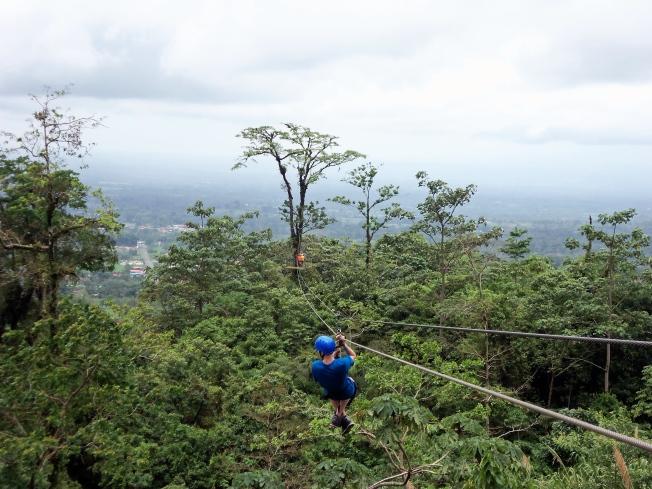 Zip Line, Costa Rica, Arenal Park