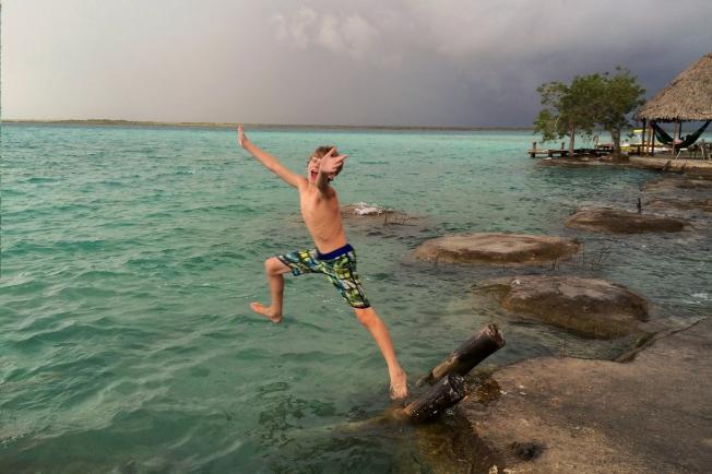 Bacalar Lagoon, Mexico