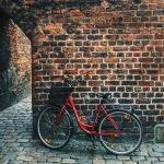 Bikes in Copenhagen,Denmark